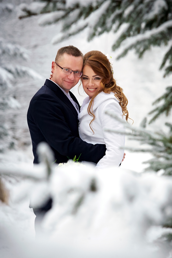 Dariusz Kawczyński, Małgorzata i Paweł, plener śnieżny, Karpacz